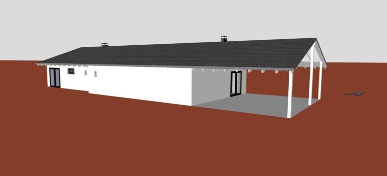 """Projekt """"Überdachung der Terrasse"""