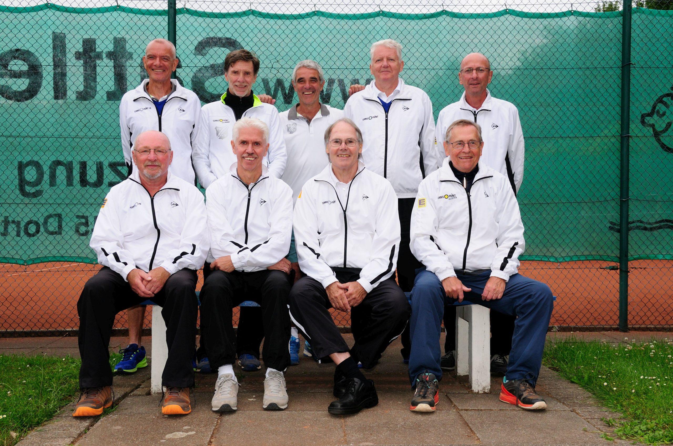 Herren 65 sind Westdeutscher Mannschaftsmeister