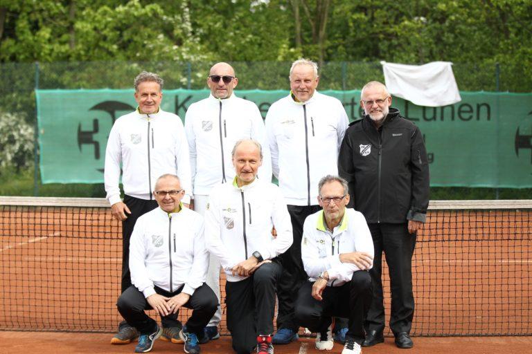 Herren 60 sind Westdeutscher Mannschaftsmeister