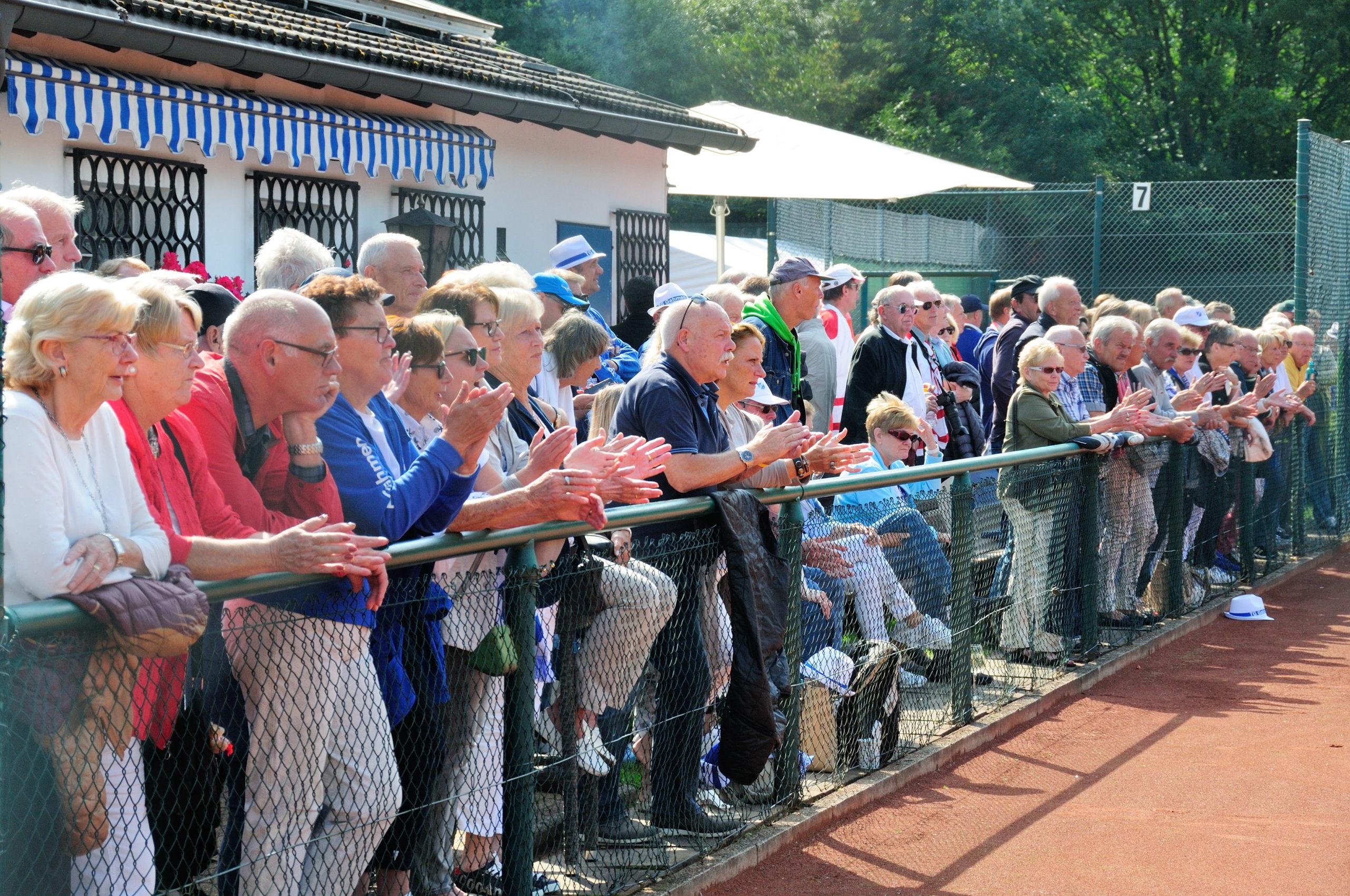 Große Spiele der Senioren 60: Am 8. und 9. September in Gahmen