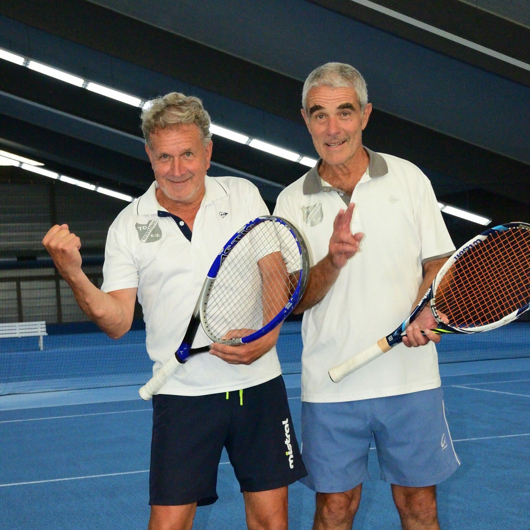 Tennis-Herren der TG Gahmen waren sehr erfolgreich.
